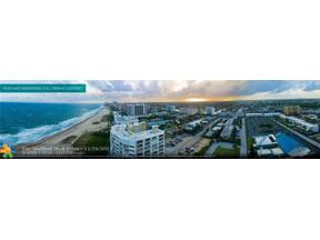 Property for sale at 730 N Ocean Bl Unit: 1105, Pompano Beach,  Florida 33062