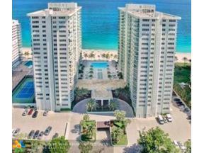 Property for sale at 3400 Galt Ocean Dr Unit: 707S, Fort Lauderdale,  Florida 33308