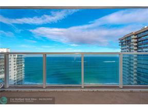 Property for sale at 4300 N Ocean Blvd Unit: PHA, Fort Lauderdale,  Florida 33308