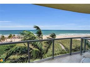 Property for sale at 1200 Holiday Drive Unit: 301, Fort Lauderdale,  Florida 33316