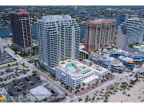 Property for sale at 101 S Fort Lauderdale Beach Blvd Unit: 801, Fort Lauderdale,  Florida 33316