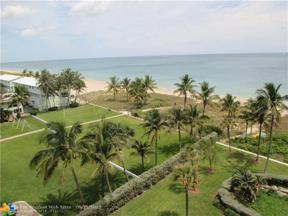 Property for sale at 5200 N Ocean Blvd Unit: 704, Lauderdale By The Sea,  Florida 33308