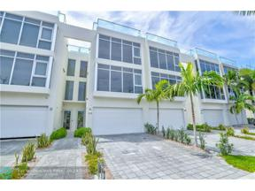 Property for sale at 205 Hendricks Isle, Fort Lauderdale,  Florida 33301