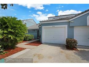 Property for sale at 8469 Waterford Cir Unit: 8469, Tamarac,  Florida 33321