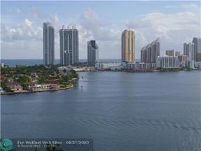 Property for sale at 3600 Mystic Pointe Dr Unit: 1514, Aventura,  Florida 33180