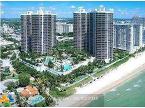 Property for sale at 3100 N Ocean Blvd Unit: 1105, Fort Lauderdale,  Florida 33308