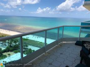 Property for sale at 5025 Collins Av Unit: 1604, Miami Beach,  Florida 33140