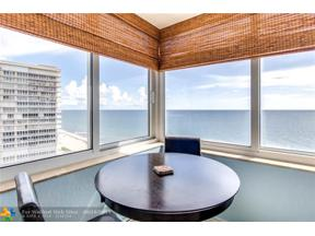 Property for sale at 4040 Galt Ocean Dr Unit: 1018, Fort Lauderdale,  Florida 33308