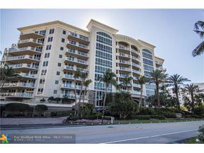 Property for sale at 1063 Hillsboro Mile Unit: 703, Hillsboro Beach,  Florida 33062