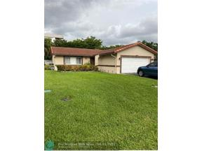 Property for sale at Coral Springs,  Florida 33071