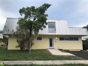 Property for sale at 1351 NE 40th Pl, Oakland Park,  Florida 33334