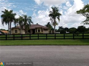 Property for sale at 17500 SW 63rd Mnr, Southwest Ranches,  Florida 33331