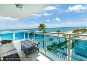 Property for sale at 3430 Galt Ocean Dr Unit: 507, Fort Lauderdale,  Florida 33308