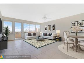 Property for sale at 3233 NE 34th St Unit: 1207, Fort Lauderdale,  Florida 33308