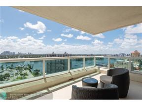 Property for sale at 101 S Fort Lauderdale Beach Blvd Unit: 1606, Fort Lauderdale,  Florida 33316