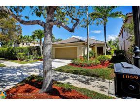 Property for sale at 1059 Golden Cane Dr, Weston,  Florida 33327
