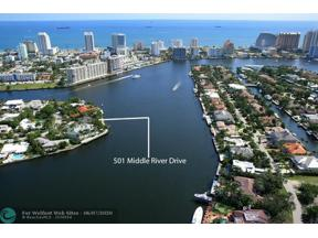 Property for sale at 501 Middle River Dr, Fort Lauderdale,  Florida 33304