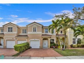 Property for sale at 3834 SW 171 Av Unit: 3834, Miramar,  Florida 33027