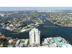 Property for sale at 3055 Harbor Dr Unit: 803, Fort Lauderdale,  Florida 33316