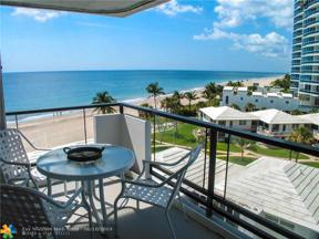 Property for sale at 1500 S Ocean Blvd Unit: 606, Lauderdale By The Sea,  Florida 33062