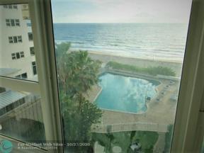 Property for sale at 4040 Galt Ocean Dr Unit: 400, Fort Lauderdale,  Florida 33308