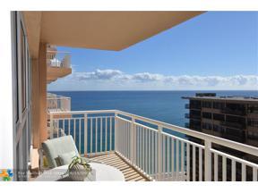 Property for sale at 3850 Galt Ocean Dr Unit: 1805, Fort Lauderdale,  Florida 33308