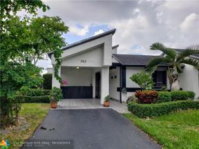 Property for sale at 342 Fairway Cir Unit: 20, Weston,  Florida 33326