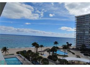 Property for sale at 4250 Galt Ocean Dr Unit: 6K, Fort Lauderdale,  Florida 33308