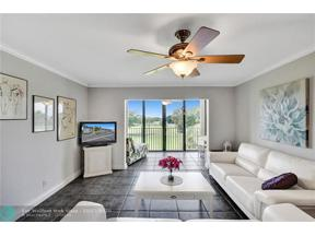 Property for sale at 7817 Golf Circle Dr Unit: 312, Margate,  Florida 33063