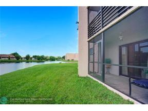Property for sale at 2764 NW 104th Ave Unit: 105, Sunrise,  Florida 33322