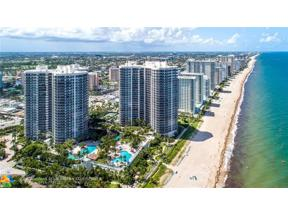 Property for sale at 3100 N Ocean Boulevard Ph 2801 Unit: 2801, Fort Lauderdale,  Florida 33308