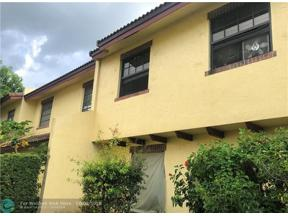 Property for sale at 2609 NW 47th Ln Unit: 3305, Lauderdale Lakes,  Florida 33313