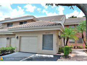 Property for sale at 16323 Malibu Dr Unit: 70, Weston,  Florida 33326