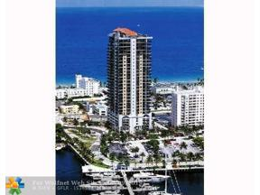 Property for sale at 100 S Birch Rd Unit: 1006, Fort Lauderdale,  Florida 33316