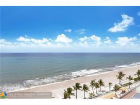 Property for sale at 4010 Galt Ocean Dr Unit: 1010, Fort Lauderdale,  Florida 33308