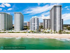 Property for sale at 3430 Galt Ocean Dr Unit: PH 1, Fort Lauderdale,  Florida 33308
