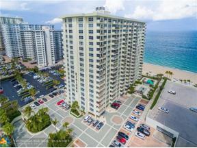 Property for sale at 3550 Galt Ocean Dr Unit: 206, Fort Lauderdale,  Florida 33308