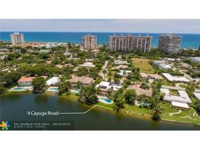Property for sale at 9 Cayuga Rd, Sea Ranch Lakes,  Florida 33308