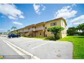 Property for sale at 7605 NW 5th Pl Unit: 108, Margate,  Florida 33063