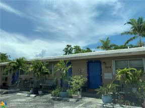 Property for sale at 704 NE 23rd Drive Unit: 2, Wilton Manors,  Florida 33305