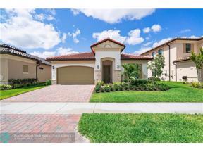 Property for sale at 11920 N Baypoint Cir, Parkland,  Florida 33076