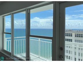 Property for sale at 3750 Galt Ocean Dr Unit: 1803, Fort Lauderdale,  Florida 33308