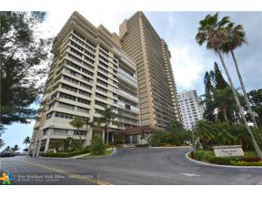 Property for sale at 4280 Galt Ocean Dr Unit: 10 A, Fort Lauderdale,  Florida 33308