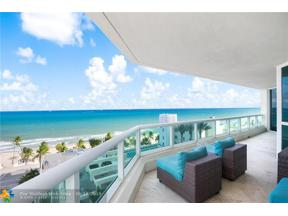 Property for sale at 101 S Fort Lauderdale Beach Blvd Unit: 1105, Fort Lauderdale,  Florida 33316
