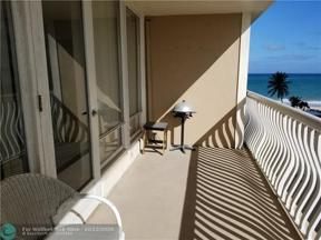 Property for sale at 4020 Galt Ocean Dr Unit: 304, Fort Lauderdale,  Florida 33308