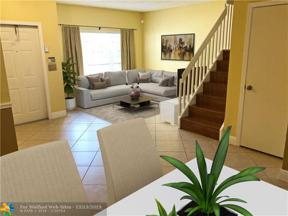 Property for sale at 6011 Red Plum Ct Unit: 467, Tamarac,  Florida 33321