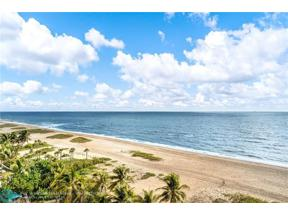 Property for sale at 710 N Ocean Blvd Unit: 809, Pompano Beach,  Florida 33062