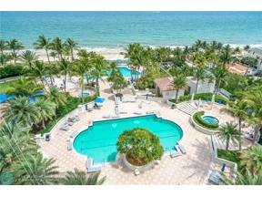 Property for sale at 3100 N Ocean Blvd Unit: 1010, Fort Lauderdale,  Florida 33308