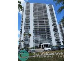 Property for sale at 3675 N Country Club Dr Unit: 2307, Aventura,  Florida 33180
