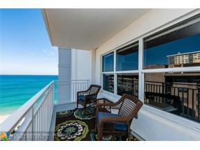 Property for sale at 3750 Galt Ocean Dr Unit: 1708, Fort Lauderdale,  Florida 33308